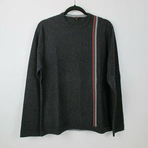 Banana Republic Mens Gray Merino Wool Sweater